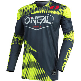 O'Neal Mayhem Maillot Crackle 91 Homme, covert-charcoal/neon yellow